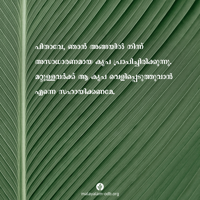 Share Malayalam ODB 2020-07-29