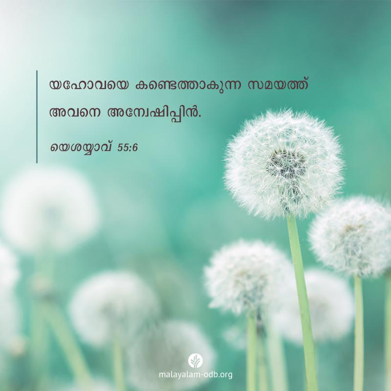 Share Malayalam ODB 2020-10-18